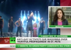 Madonna wanted for gay propaganda Russia